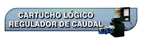 Proporcionales Cartucho Logico Regulador Caudal