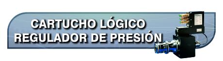 Proporcionales Cartucho Logico Regulador Presion